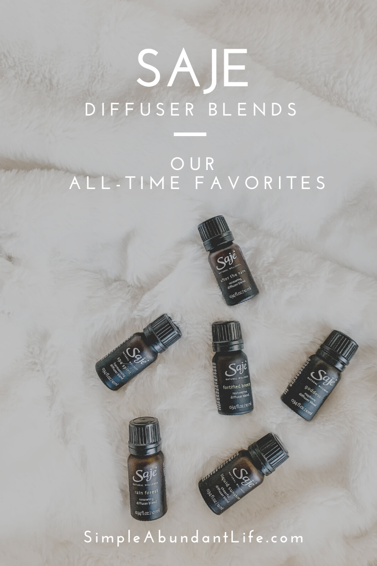 Favorite Essential Oil Diffuser Blends
